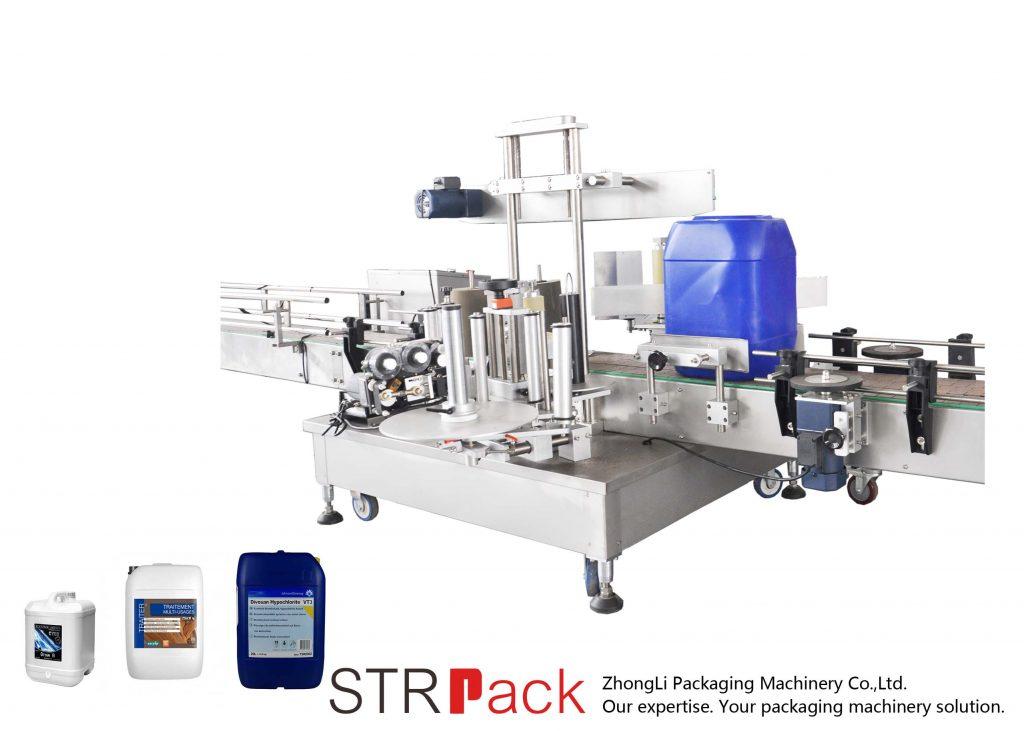 Makinë automatike e etiketimit të dyfishtë për daulle 5-25L