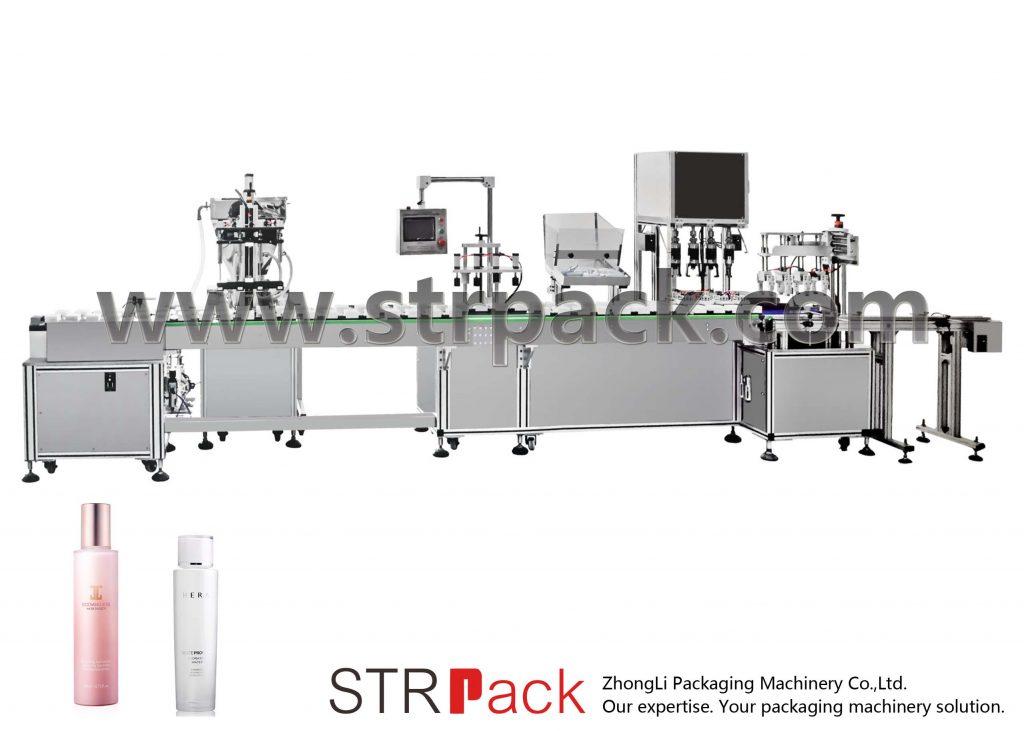 Makinë automatike e mbushjes dhe emulsionit të ujit