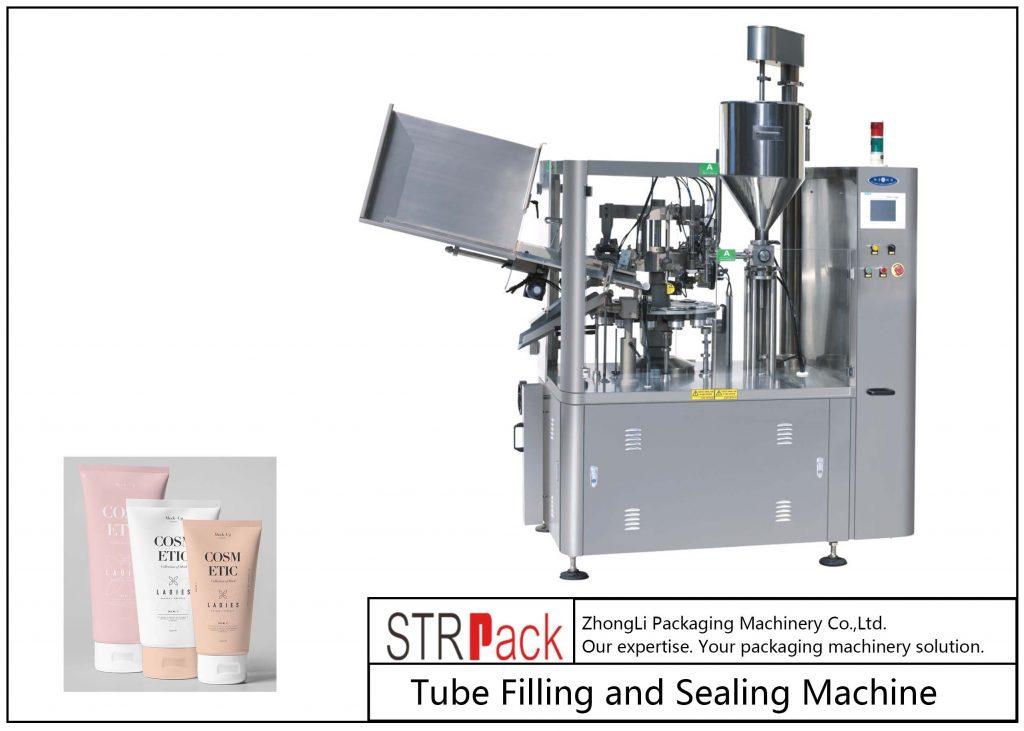 Makinë e mbushjes dhe nënshkrimit të tubave plastikë SFS-100